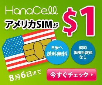 アメリカSIMが$1
